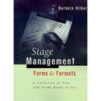 【预订】Stage Management Forms & Formats: A Collection of