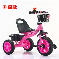 小孩三轮车3-6岁大号儿童脚踏车脚踩小车子幼儿小童自行车男孩红B31