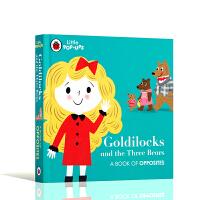 金发女孩与三只熊 Little Pop-Ups: Goldilocks and the Three Bears英文原版