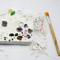 儿童*考古挖掘玩具手工diy宝石霸王龙骨架拼装模型教具