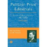 【预订】Pulitzer Prize Editorials