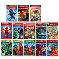 英文原版正版 Lego Ninjago Reader 17册全套集 乐高幻影忍者系列电影小说彩色插图绘本Way of