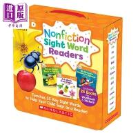【中商原版】学乐高频词百科读物D级 Nonfiction?Sight?Word?Level?D 亲子英文 英语学习 视觉