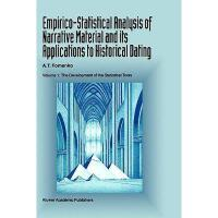 【预订】Empirico-Statistical Analysis of Narrative Material