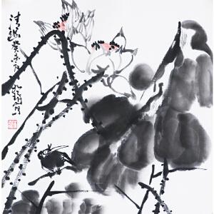 崔如琢《清幽》中国画艺术大师