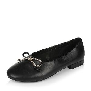 Belle/百丽2017春时尚舒适羊皮女单鞋11013AM7