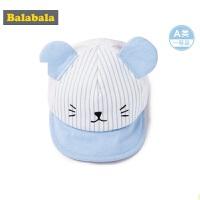 【2件6折】巴拉巴拉夏装2018新款男童休闲帽子婴童宝宝帅气鸭舌帽时尚棒球帽潮