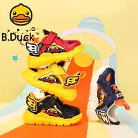 【2件25折:97.25元】B.Duck小�S��童鞋男童棉鞋2020冬季新款二棉�\�有�防滑耐磨中小童跑步鞋B5181918