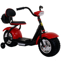 创意新款童车新款小哈雷儿童电动摩托车童车三轮车男女宝宝可玩具车2-6岁