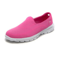 SKECHERS 斯凯奇 女士超轻舒适时尚弹力布一脚蹬休闲鞋 13947C