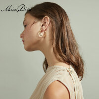 几何夸张大耳环时尚个性短款耳饰品女气质百搭简约