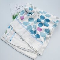 宝宝夏凉被儿童竹纤维毯夏凉毯单人空调毯毛巾被M