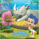 【预订】A Friend at the Zoo (Bubble Guppies)