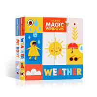【全店300减110】英文原版进口Magic Windows: Weather/My Body魔法之窗:天气/我的身体2