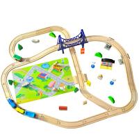 3-6-9岁益智玩具托马斯火车轨道套装儿童玩具男积木