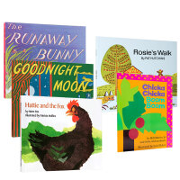 英文原版进口绘本 Rosie`s Walk Pat Hutchins/Goodnight Moon/Hattie and