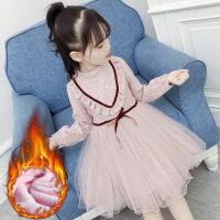 女童秋冬装连衣裙2018新款3宝宝4洋气5小女孩长袖6公主7裙子8岁潮
