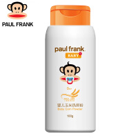 PF171011大嘴猴(paul frank)婴儿玉米热痱粉100g