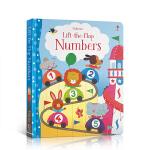 顺丰发货 英文原版 Lift-the-Flap系列Numbers 数字 儿童启蒙认知识物 入门词汇揭页翻翻书趣味单词绘