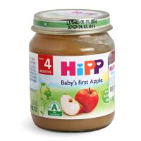 德国HIPP喜宝 苹果泥125g 6个月以上宝宝婴幼儿辅食 2段水果泥