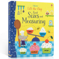 英文原版 Usborne Lift-the-Flap Sizes and Measuring 长度概念 儿童早教启蒙