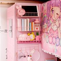 少女宿舍挂篮置物架 寝室住校收纳空间大师床上房间整理架