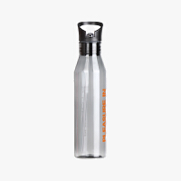 当当优品 户外运动太空杯 水杯 便携式 多功能杯 灰色 720ML