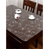 桌垫隔热垫防水防烫防油免洗长方形软玻璃PVC桌布