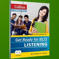 正版现货 柯林斯基础雅思听力 英文原版 Get Ready for IELTS Listening 备考雅思 英语考试