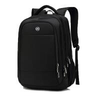 嘉迪奴欧美电脑双肩包男时尚潮流大学生书包电脑包商务旅行背包