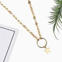 韩国锁骨链女 简约星星吊坠脖子饰品颈链个性短款装饰项链
