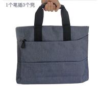 晨光 A4拉链袋资料袋女士手提包男士商务公文包多层ABB93184 灰色 单个装