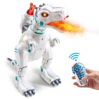 电动智能机器人遥控霸王龙儿童男孩恐龙玩具仿真动物喷火