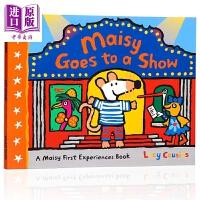 【中商原版】小鼠波波系列 Maisy goes to a show 小鼠波波看演出 低幼启蒙故事绘本 Walker出版