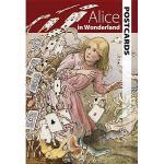 【预订】Alice in Wonderland Postcards