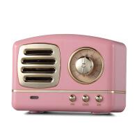 蓝牙音箱少女心复古小音响迷你无线插卡创意可爱u盘手机重低音炮 官方标配