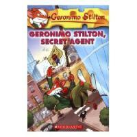 英文原版 老鼠记者34:秘密特工 Geronimo Stilton, Secret Agent