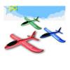 新款手抛飞机 手抛泡沫飞机 手掷航模滑翔机 360回旋飞机模型小号36*35*17CM