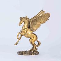 飞马铜摆件 风水摆设家居装饰品客厅办公室开业礼品