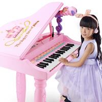 宝宝钢琴话筒音乐琴键弹奏玩具儿童电子琴初学者3-6岁女孩