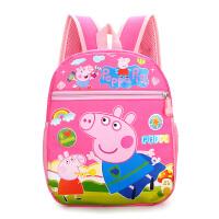 韩版帆布幼儿园书包女卡通儿童背包男小学生中大班3-4-5岁双肩包6