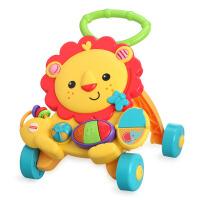 费雪小狮子婴儿学走路学步车 多功能防侧翻宝宝手推车 音乐玩具