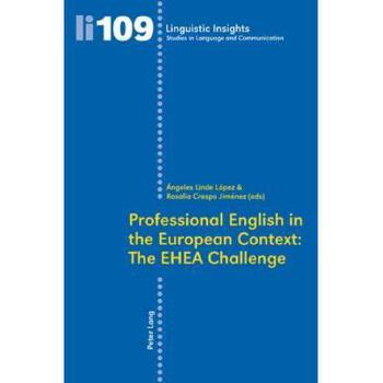 【预订】Professional English in the European Context: The 美国库房发货,通常付款后3-5周到货!