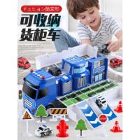 �和�玩具�模型合金仿真小汽�套�b各��小孩小朋友2-3�q男孩子1