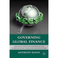 【预订】Governing Global Finance