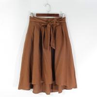 O06024精品秋冬新款简约松紧高腰不勒显瘦好搭配女纯色半身裙
