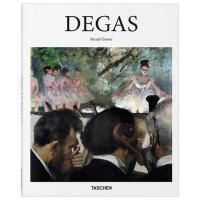【现货】德加 Degas 艺术绘画作品集 艺术画册 画集 taschen 绘画作品 水彩画 绘画艺术书籍