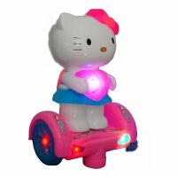 电动机器人会唱歌跳舞走路发光 凯蒂 y猫能儿童玩具
