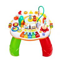 婴儿玩具宝宝儿童0-1-3岁学习游戏桌 和谐号【充电套装】