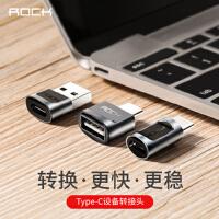 支持礼品卡 ROCK 安卓 otg 转接头 type-c转usb usb转 type-c 手机数据连接线 micro